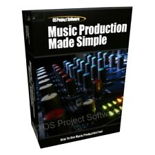 Music Production Made Simple Computer Software Program