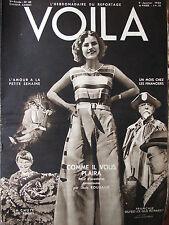 VOILA N°42 (9/1/1932) Français, qu'est-ce que tu paies ? - Terre 1932 / New York
