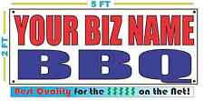 CUSTOM NAME BBQ Banner Sign NEW Larger Size Best Quality for the $$$