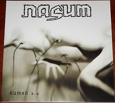 Nasum - Human 2.0 LP / Vinyl + Download Card/ Gatefold New RE (2015) Grindcore