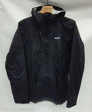 Patagonia Mens Torrentshell Rain Jacket 83802 Black Size 2XL