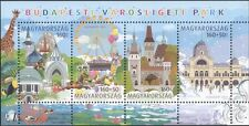Hungary 2011 Zoo/Park/Fun Fair/Castle/Clown/Giraffe/Skating/Horses 4v m/s n45123