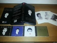 Maria Callas - La Divina  (RARE Limited Edition 4 CD Box Set 1995)