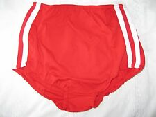 "Ladies GYMPHLEX Athletics SCARLET RED School Gym Shorts W28 Sz ""L"" UK 12-16 BNIB"