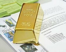 Fake Gold Bar Plate Bullion Door Stop Paper Weight Desk Office Table 1kg 35oz