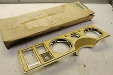 NOS GM 1979 Buick LeSabre Estate Wagon Instrument Cluster Plate