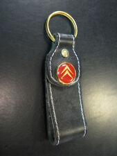 Key ring / sleutelhanger Citroën (leather big)