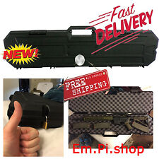 Protective AK 47 Gun Case AR-15 Storage Box Durable Weatherproof Resistant  NEW