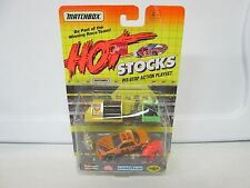 1992 Matchbox Hot Stocks Pit Stop Action Playset Team Goodyear No 22 (1)