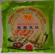 Spring Roll Tapioca Sheet Rice Paper Wrappers 22cm - Buy 3 get 1 Free