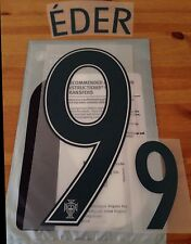 Portugal euro 2016 away shirt eder officiel #9 sportingid ps-pro name set kit
