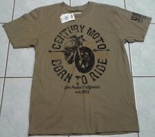 Von Dutch Men's Cycle Style Century T-Shirt NEW SZ Medium