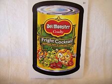 2006 Topps Wacky Packages - DEL MONSTER Fright Cocktail #31