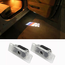 2 PCS LED Door Shadow Welcome Courtesy Logo Projector Light For BMW E39 E53 ~