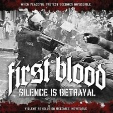 "FIRST BLOOD ""SILENCE IS BETRAYAL"" LP VINYL NEU"