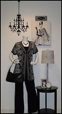Women's Plus Size 18/20 1X/2X Designer Clothing Lot Tops Pants Dresses Jewelry