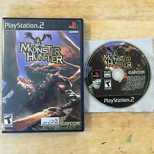 Monster Hunter Sony PlayStation 2 PS2 System Game & Box