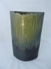 Japanese Green Modern Exquisite Sculpture Ikebana Vase New