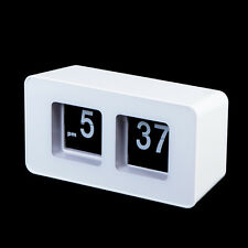 Modern Stylish Auto Flip Clock Classic Retro Desk Wall Home Decoration Gift