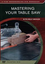 Mastering Your Table Saw (DVD)/woodworking/wood working