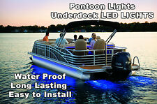 NEW 22 -26' PONTOON BOAT UNDER DECK LED LIGHTS HARNESS & MOUNTING TRACK INCLUDED