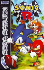 ## SEGA SATURN - Sonic R (in OVP, aber mit Gebrauchsspuren) ##