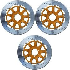EBC Pro-Lite Front + Rear Brake Rotors 1981-1982 Kawasaki KZ1000 LTD