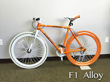 Caraci Bike Fixed Gear Bike Fixie Alloy Urban Bike Flip Flop Hub F1