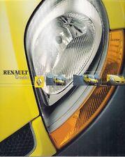 Renault Trafic 2003-04 UK Market Sales Brochure Panel Van Platform Cab Crew Van