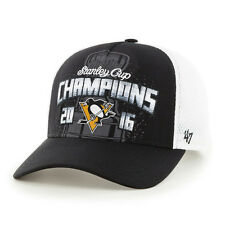 Pittsburgh Penguins 47' 2016 STANLEY CUP CHAMPIONS LOCKER ROOM Adjustable Hat