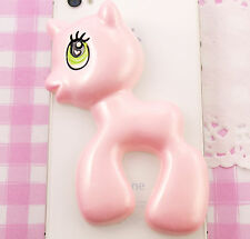 Giant MY LITTLE PONY UNICORNO Piatto Indietro Cabochon Kawaii Kitsch UK VENDITORE PANNA