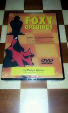 CHESS DVD FOXY OPENINGS # 35 MODERN' MODERN GM JAMES PLASKETT
