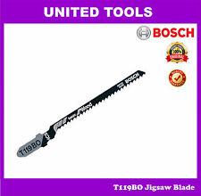 BOSCH T119BO Jig Saw Blade Curved Cutting for Wood Working