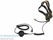 Bow-M Evo K Tactical Military Paint Headset KENWOOD Baofeng Wouxun Midland Team