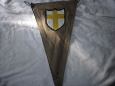 WWII BRITISH DESERT RATS  8 TH ARMY  TACTICAL VEHILE COMMAND POST   FLAG