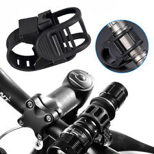 Rotatable Cycling Bike Torch Clamp Clip Bicycle Mount LED Light Holder Bracelet