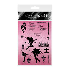 FAIRY SPARKLES - For The Love of Stamps Clear Stamp Set - Hunkydory