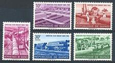 Guinea 1964 Sc# 328-32 set Water supply pipeline MNH