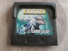 ECCO THE DOLPHIN THE TIDES OF TIME ( GAME GEAR )