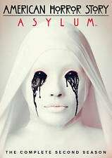American Horror Story: Asylum (DVD, 2013, 4-Disc Set) Brand New