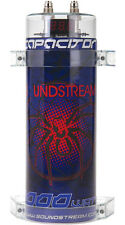 SOUNDSTREAM SCX-1.5 1.5 FARAD DIGITAL LED CAR CAPACITOR AUDIO POWER CAP SCX15