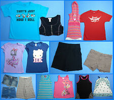 15 Piece Lot of Nice Clean Girls Size 10 Spring Summer Everyday Clothes ss237