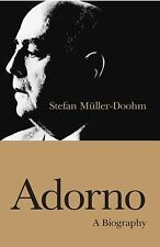 Adorno : A Biography by Stefan Muller-Doohm (2009, Paperback)
