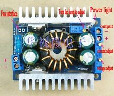 Boost DC DC Converter CC CV 10v-32V To 10-46V 8A 12V 24V 150W LED power supply