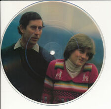 "HEROES AND ANGELS 45 TOURS 7""  HEY DIANA PICTURE DISC LADY DI LADY DIANA"