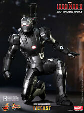 HOT TOYS IRON MAN 3 WAR MACHINE MARK II DIECAST 1:6 FIGURE ~Sealed in Brown Box~