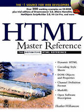 HTML Master Reference (Master Reference Collection)-ExLibrary
