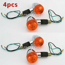 4pcs Bullet Turn Signals Light For Honda Shadow VT 1100 500 700 750 800