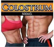 Bovine Colostrum Pills Bodybuilding Muscle Growth Immune System Body Building
