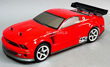 RC Brushless FORD MUSTANG GTR Race Car  -Lipo - Ready To Run